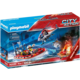 Playmobil City Action 70335 Hasiči s helikoptérou a člunem