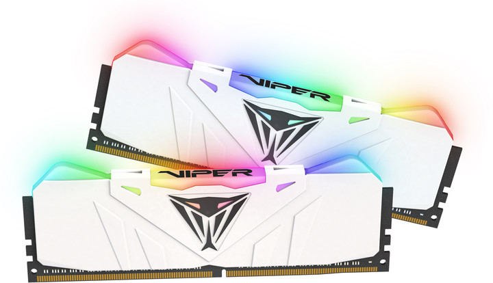Patriot VIPER RGB 16GB (2x8GB) DDR4 2666, bílá