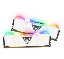 Patriot VIPER RGB 16GB (2x8GB) DDR4 2666, bílá CL 15 PVR416G266C5KW
