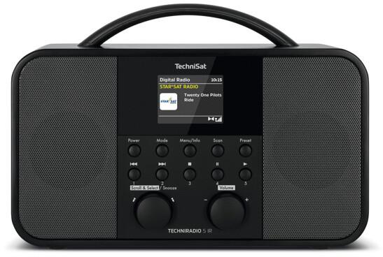 TechniSat TECHNIRADIO 5 IR, černá