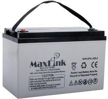MaxLink baterie AGM 12V/100Ah, olověný akumulátor M8 - MLB-A12-100