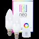 IMMAX Neo 2x LED E14 C37 5W 400lm Zigbee Dim RGBW + ovladač