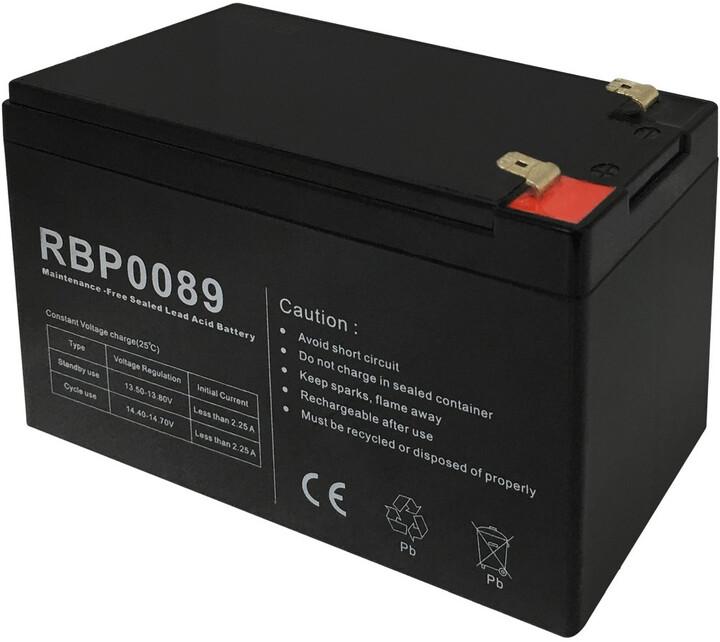 CyberPower náhradní baterie, 12V/7,5Ah