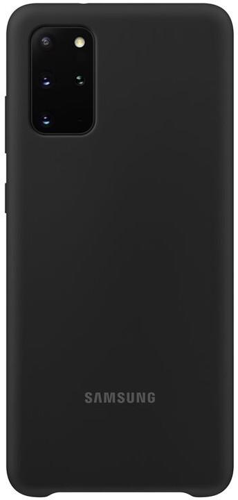 Samsung silikonový kryt pro Galaxy S20+, černá