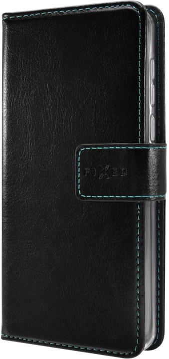 FIXED pouzdro typu kniha Opus pro Honor 8A, černá