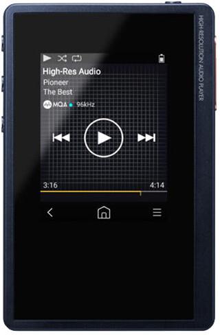 Pioneer XDP-02U, 16GB, tmavě modrá