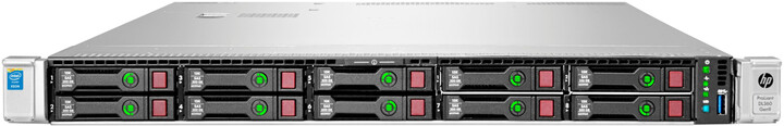 HP ProLiant DL360G9 /E5-2603v3/8GB/2x300GB/500W