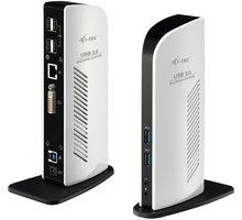 i-tec USB 3.0 Docking Station Advance DVI Full HD + Gigabit Ethernet - U3DVIDOCKL