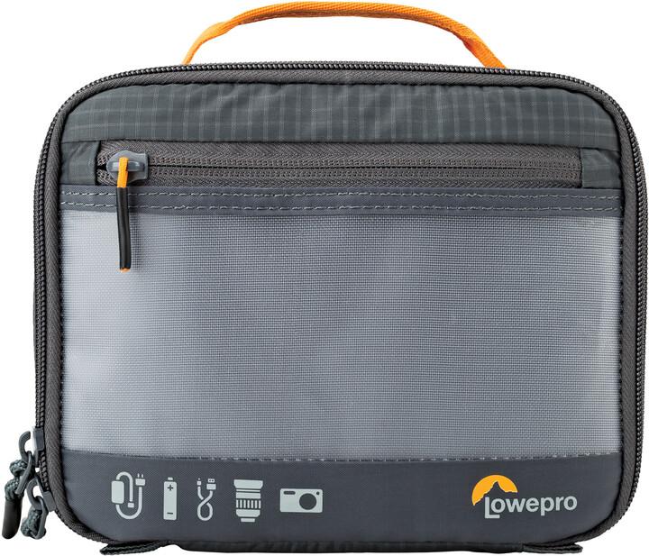 Lowepro pouzdro GearUp Camera Box M, šedá