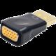 Gembird CABLEXPERT kabel Displayport na VGA, M/F, černá