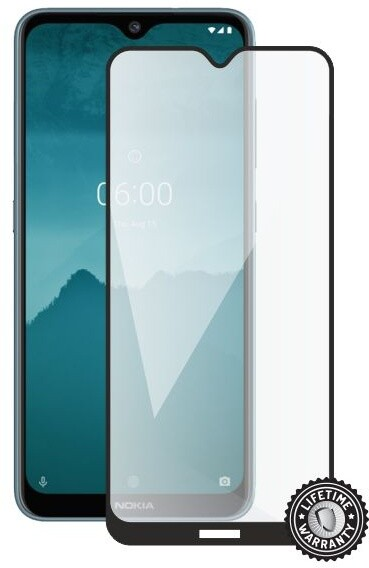 Screenshield ochrana displeje Tempered Glass pro Nokia 6.2 (2019), full cover, černá
