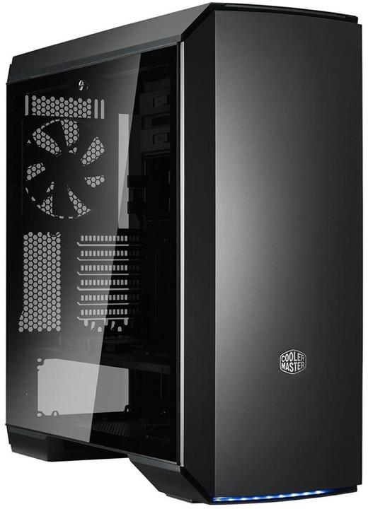 CoolerMaster MasterCase MC600P, okno, černá