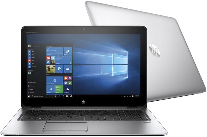 HP EliteBook 850 G3, stříbrná