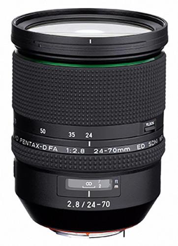Pentax objektiv D FA 24-70mm F2.8 ED SDM WR