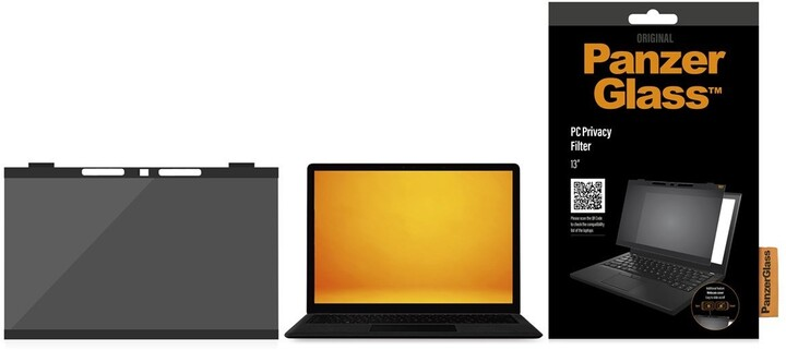 """PanzerGlass Privacy filtr pro zvýšení soukromí k notebooku 13"""""""