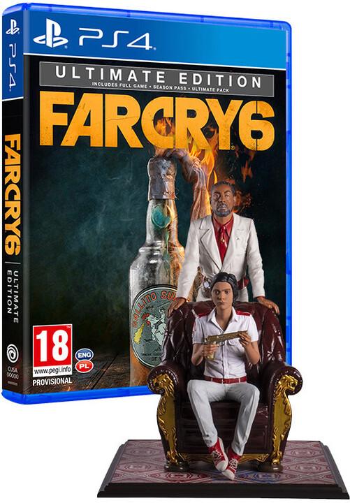 Far Cry 6 - Ultimate Edition + figurka Anton & Diego (PS4)