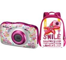 Nikon Coolpix W150, květinový + Backpack kit