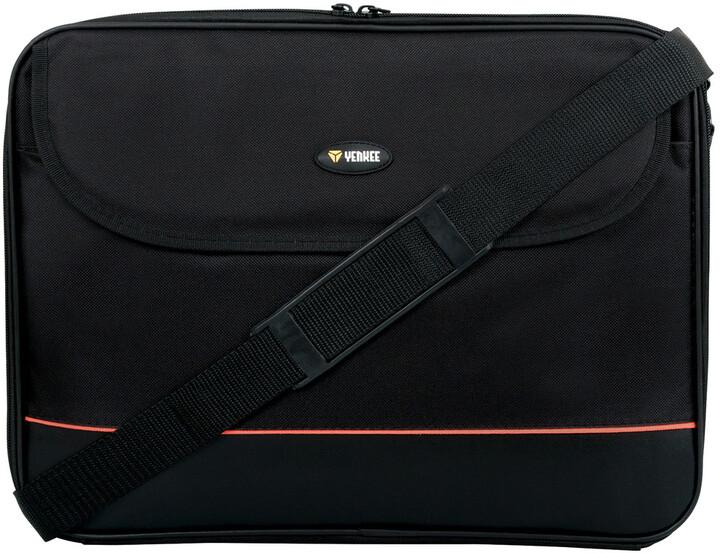 """Yenkee taška na notebook 15.6"""", černá"""