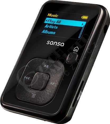 SanDisk Sansa Clip Plus 2 GB FM, černá