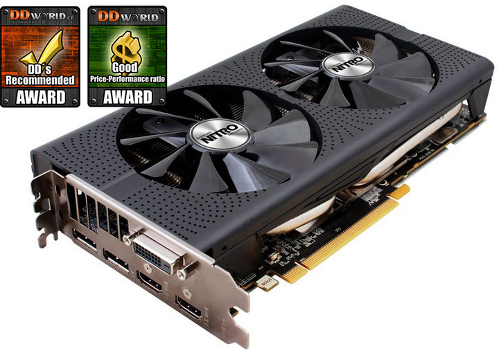 Sapphire Radeon NITRO+ RX 480, 8GB GDDR5