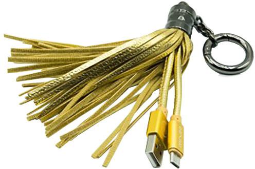 MIZOO USB/microUSB přívěsek X900, zlatý