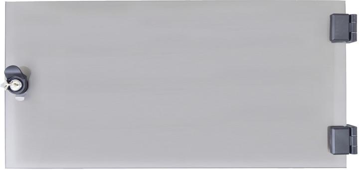 Triton dveře RAX-DC-A03-X1, 9U, celoskleněné