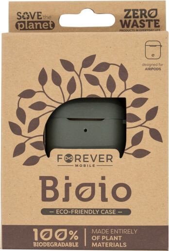 Forever ochranné pouzdro Bioio pro AirPods, zelená