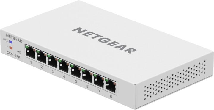 NETGEAR GC108PP Smart Cloud Switch