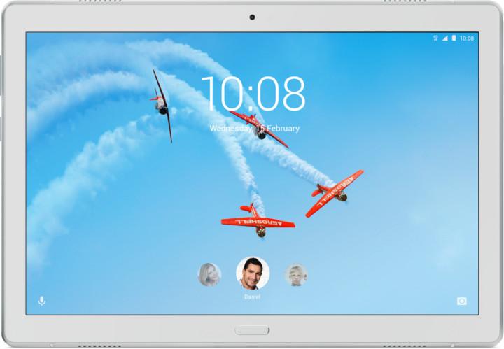 """Lenovo TAB P10 10.1"""", 64GB, LTE, bílá"""