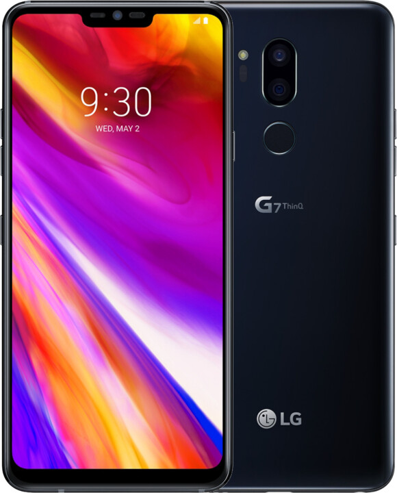 LG G7 ThinQ, 4GB/64GB, Aurora Black