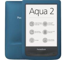 PocketBook AQUA 2, modrá  + DIGI TV s více než 100 programy na 1 měsíc zdarma