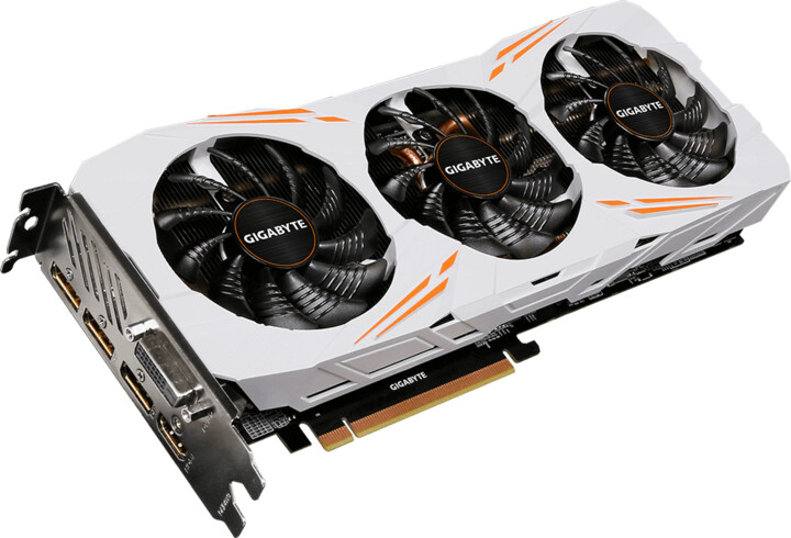 GIGABYTE GeForce 1080 Ti Gaming OC 11G, 11GB GDDR5X