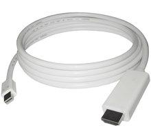 PremiumCord mini DisplayPort 1.2 na HDMI 2.0 kabel pro rozlišení 4Kx2K@60Hz, 1m - kportadmk04-01