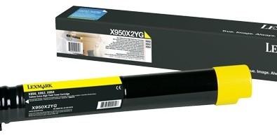Lexmark X950X2YG, žlutá