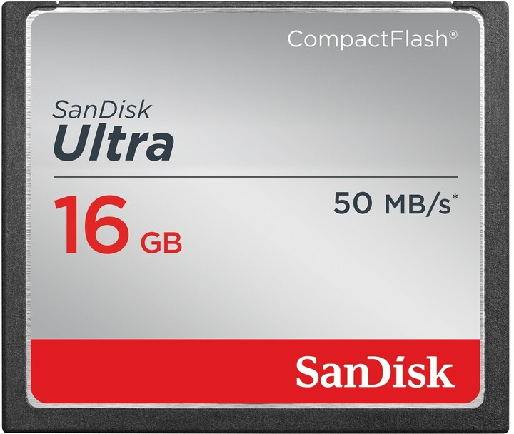 SanDisk CompactFlash Ultra 16GB 50MB/s