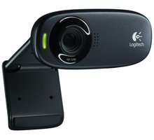 Logitech HD Webcam C310, šedá - 960-001065