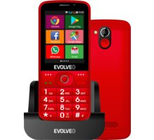 Evolveo EasyPhone AD, Red - EP-900-ADR