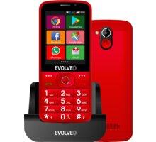 Evolveo EasyPhone AD, Red - Použité zboží