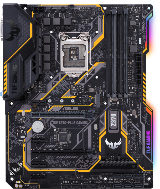 ASUS TUF Z370-PLUS GAMING - Intel Z370