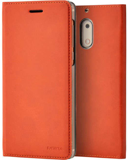 Nokia 5 Slim Flip pouzdro CP-302, Brown Copper