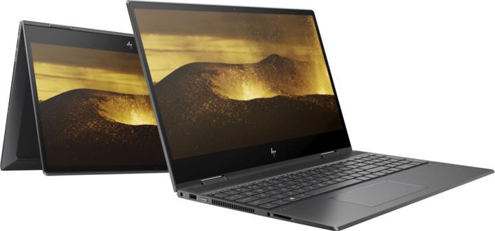 HP Envy x360 15-ds0002nc, černá