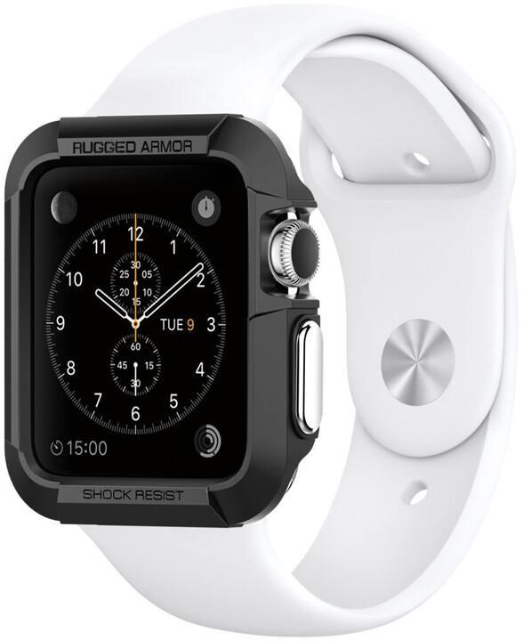Spigen Rugged Armor - Apple Watch 38mm, černá