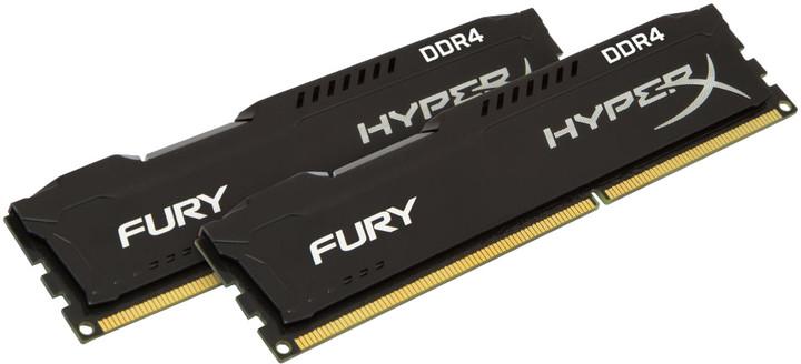 HyperX Fury Black 32GB (2x16GB) DDR4 3466