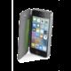 CellularLine Clear Book pouzdro typu kniha pro Apple iPhone 5/5S/SE, průhledné, černé