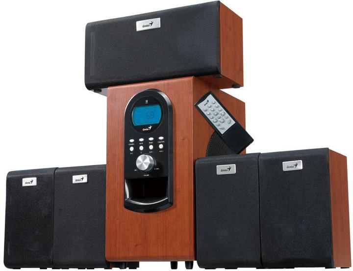 Genius SW-HF 5.1 6000 Dark Wood