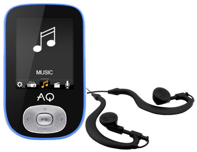 AQ MP03, 4GB, modrá
