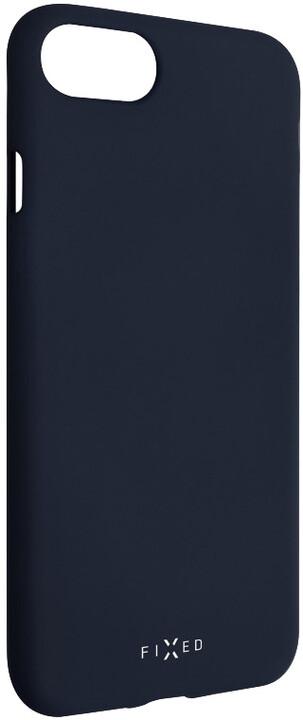 FIXED zadní silikonový kryt Story pro Huawei P Smart (2019), modrá