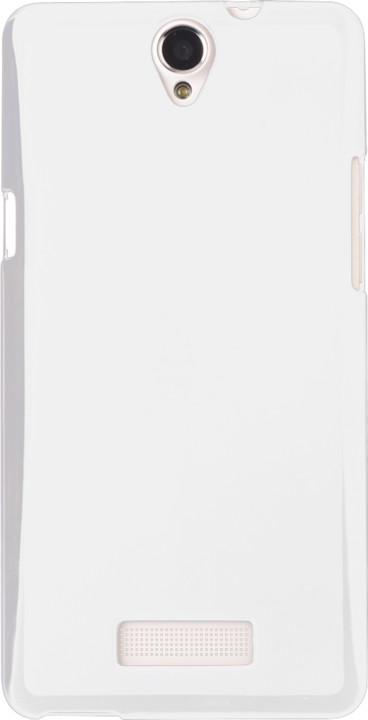 myPhone silikonové pouzdro pro Cube, bílá