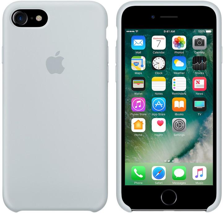 Apple iPhone 7/8 Silicone Case, mlhově modrá