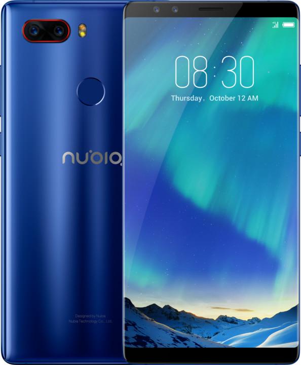 ZTE Nubia Z17s - 128GB, modrá